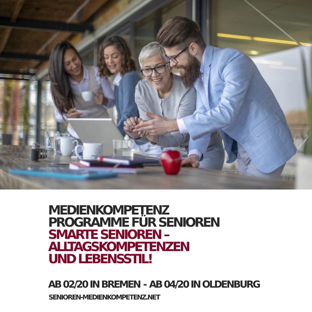 Smarte Senioren: Digitale Kompetenzen für ältere Menschen